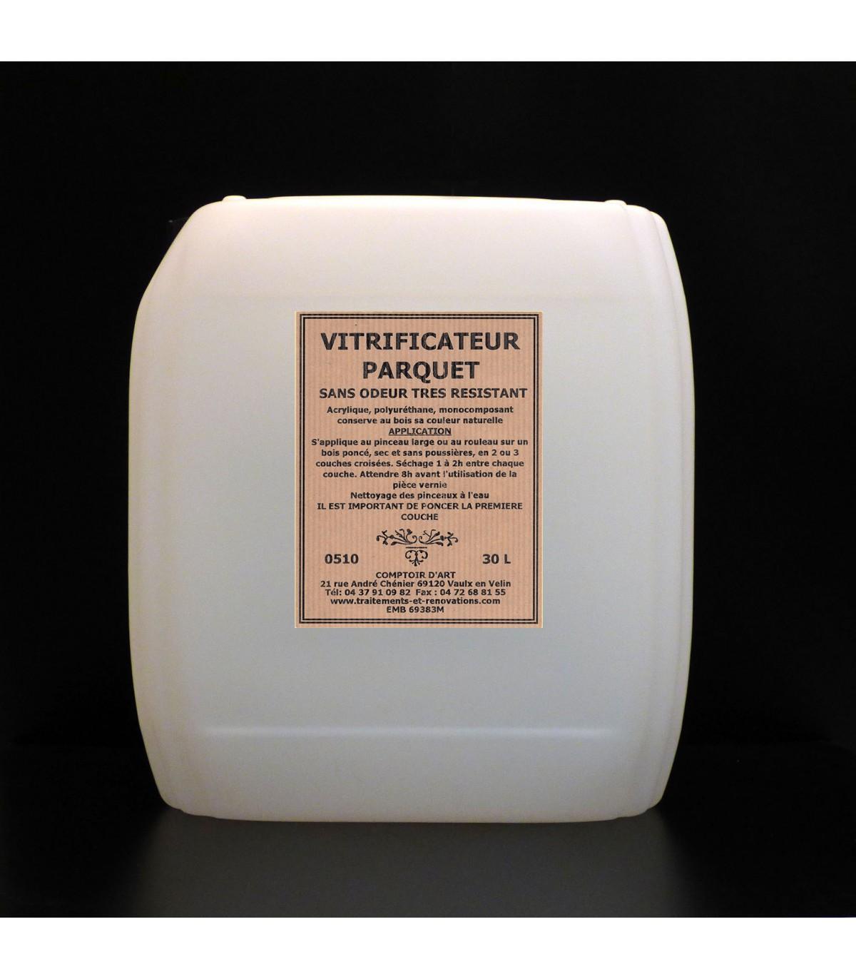 Vitrifier Parquet Sans Poncer vitrificateur parquet sans odeur - aqueux satine